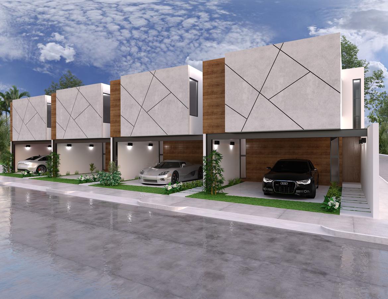 Foto Departamento en Venta en  Fraccionamiento Real de Dzityá,  Mérida  Venta Townhouse equipados, ubicados en Dzitya