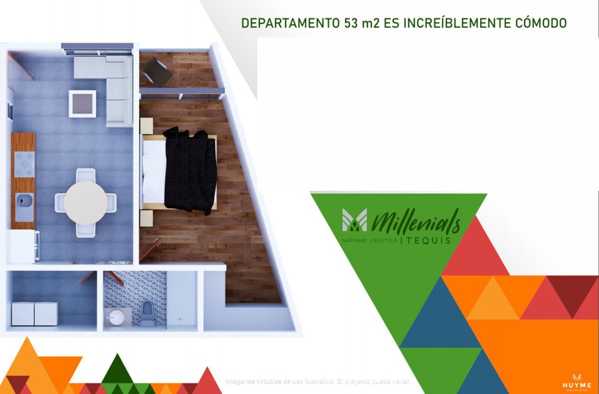 Foto Departamento en Venta en  Tequisquiapan,  San Luis Potosí  Modelo D, Piso 2- Agustín Vera 105, esq. Anáhuac, San Luis Potosí, S.L.P.