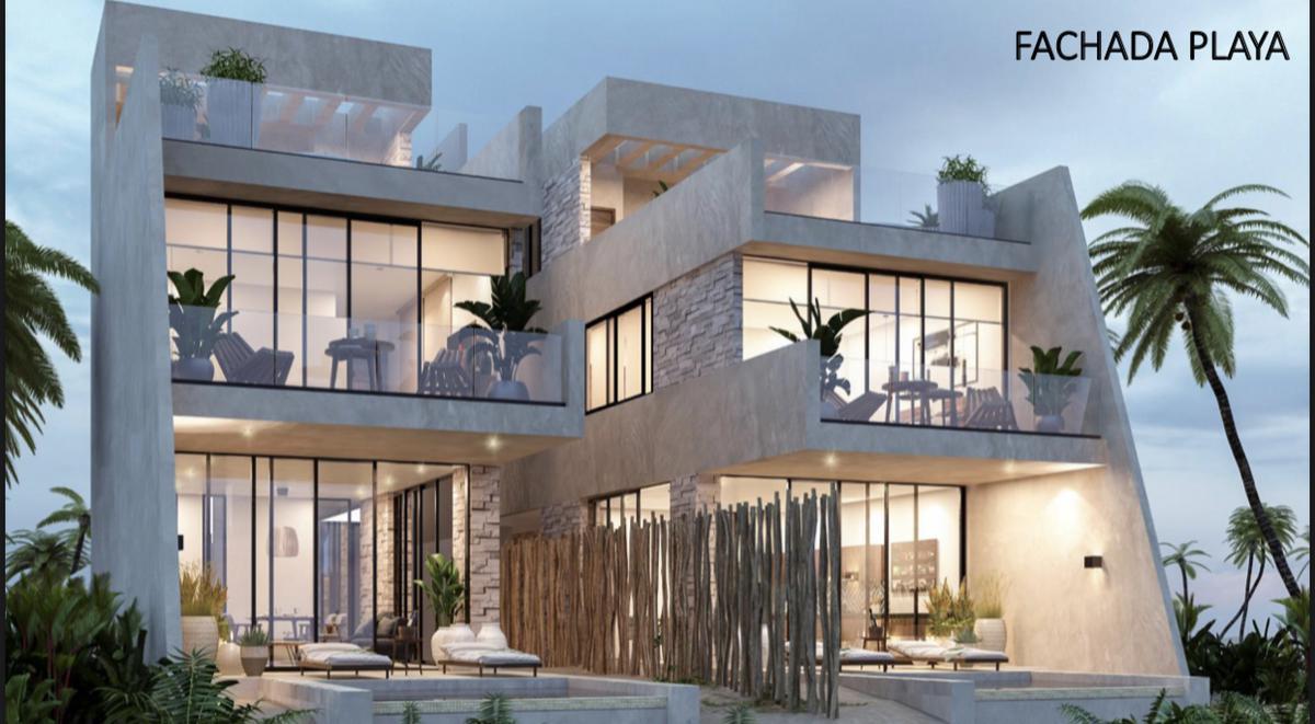 Foto Casa en Venta en  San Benito,  Dzemul  Casa frente al mar- San benito