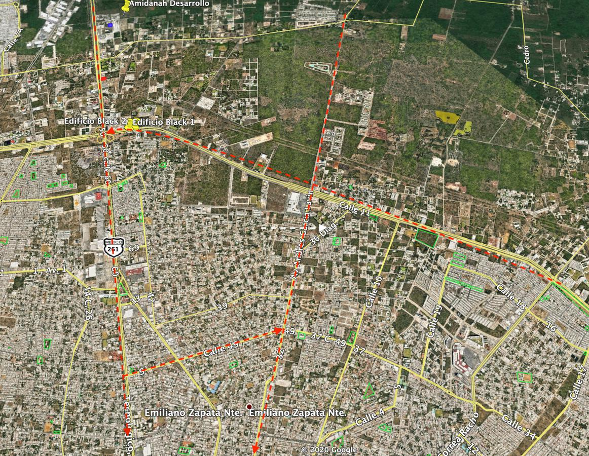 Foto Terreno en Venta en  Mérida,  Mérida  Terreno en Venta sobre Periférico Norte  3610.80m2