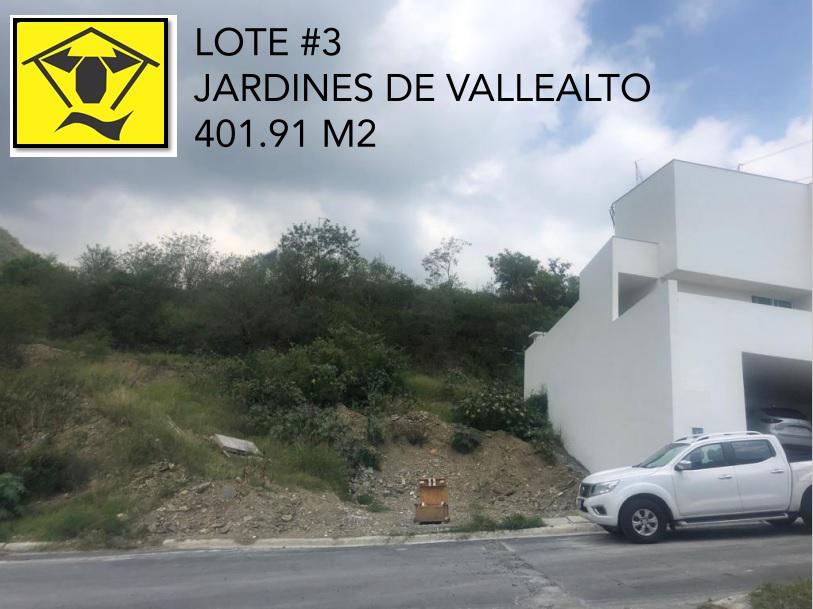 Foto Terreno en Venta en  Bosques de Valle Alto,  Monterrey  Jardines de Valle Alto – Carretera Nacional