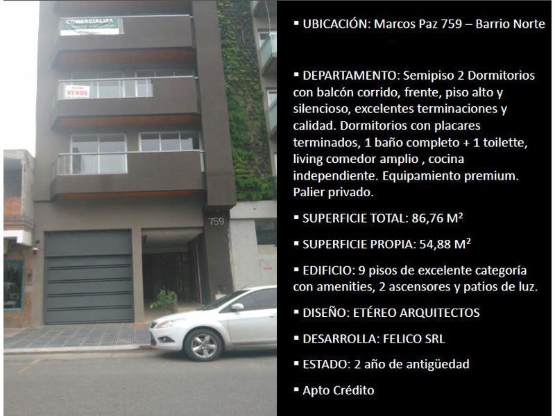 Foto Departamento en Venta en  San Miguel De Tucumán,  Capital  MARCOS PAZ al 700
