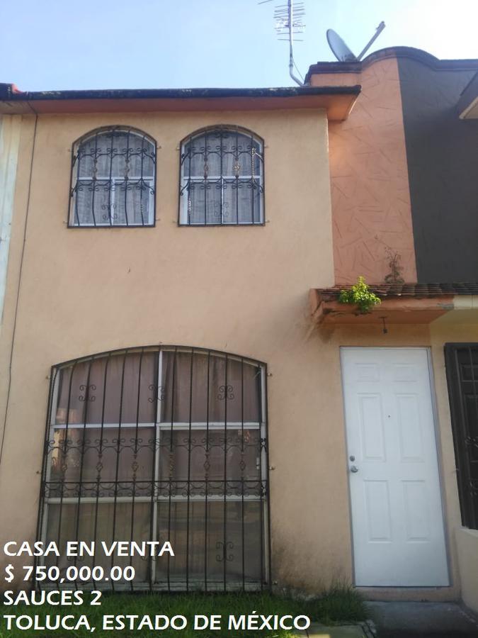 Foto Casa en condominio en Venta en  Toluca ,  Edo. de México  Casa en VENTA, Los Sauces 2, Sauces, Toluca, Estado de México