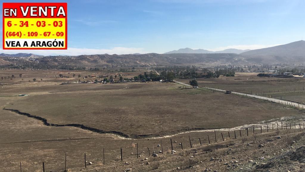 Foto Terreno en Venta en  Tijuana ,  Baja California Norte  VENDEMOS PRECIOSO TERRENO 20 HECTÁREAS O 200,000 MTS2 PLANOS EN VALLE REDONDO CERCA DEL BLVD EL NIÑO