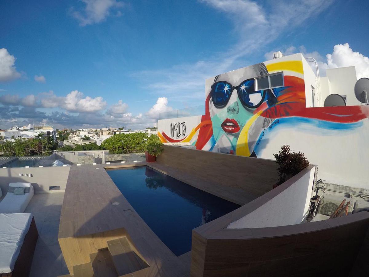 Foto Departamento en Renta en  Solidaridad ,  Quintana Roo  Nolita 301 2 habitaciones 5 Av Calle 24