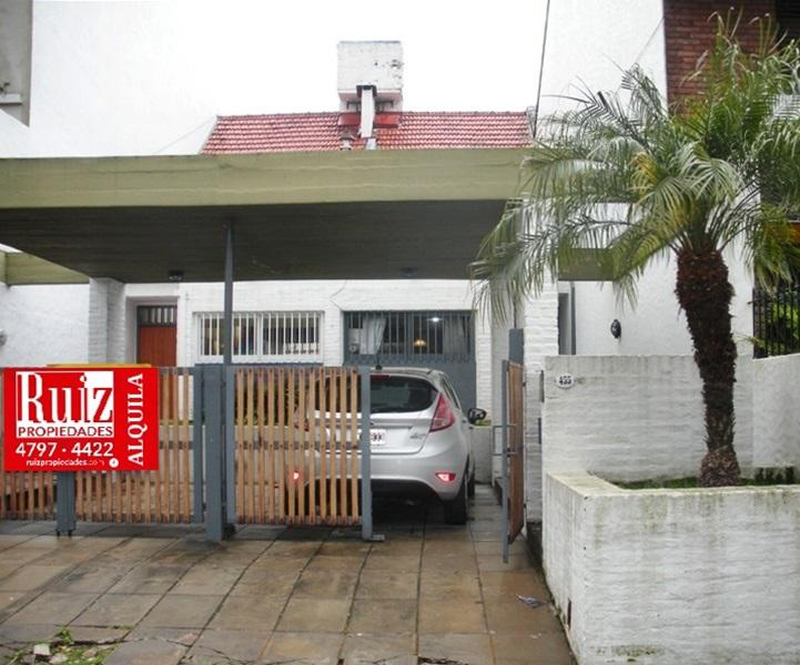 Foto Casa en Alquiler en  Mart.-Santa Fe/Fleming,  Martinez  Juncal al 400