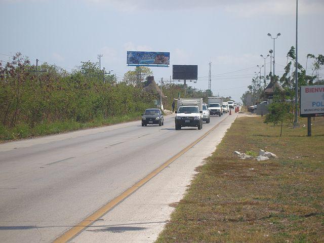 Foto Terreno en Venta en  Solidaridad ,  Quintana Roo  carretera playa ddel carmen cancun