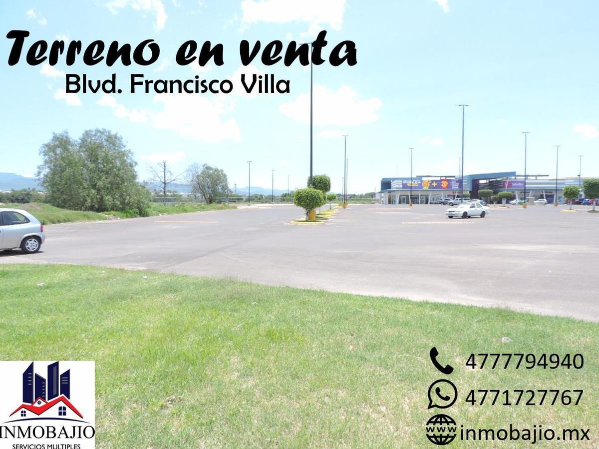 Foto Terreno en Venta en  Las Bugambilias,  León  Terreno en venta sobre blvd. Francisco Villa, ideal para desarrolladores e inversionistas