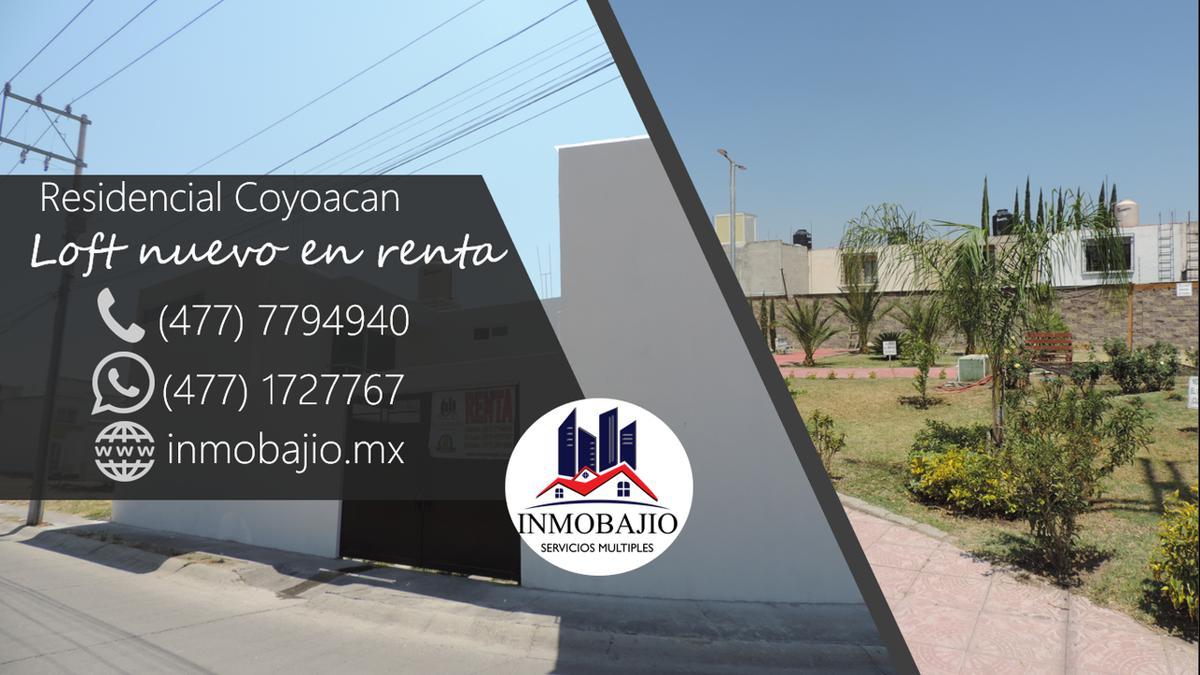 Foto Departamento en Renta en  Residencial Platino,  León  Loft nuevo en Residencial Coyoacan