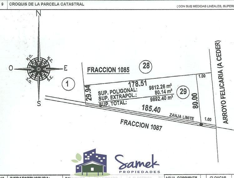 Foto Terreno en Venta en  Felicaria,  Zona Delta San Fernando  Felicaria Parcela 29