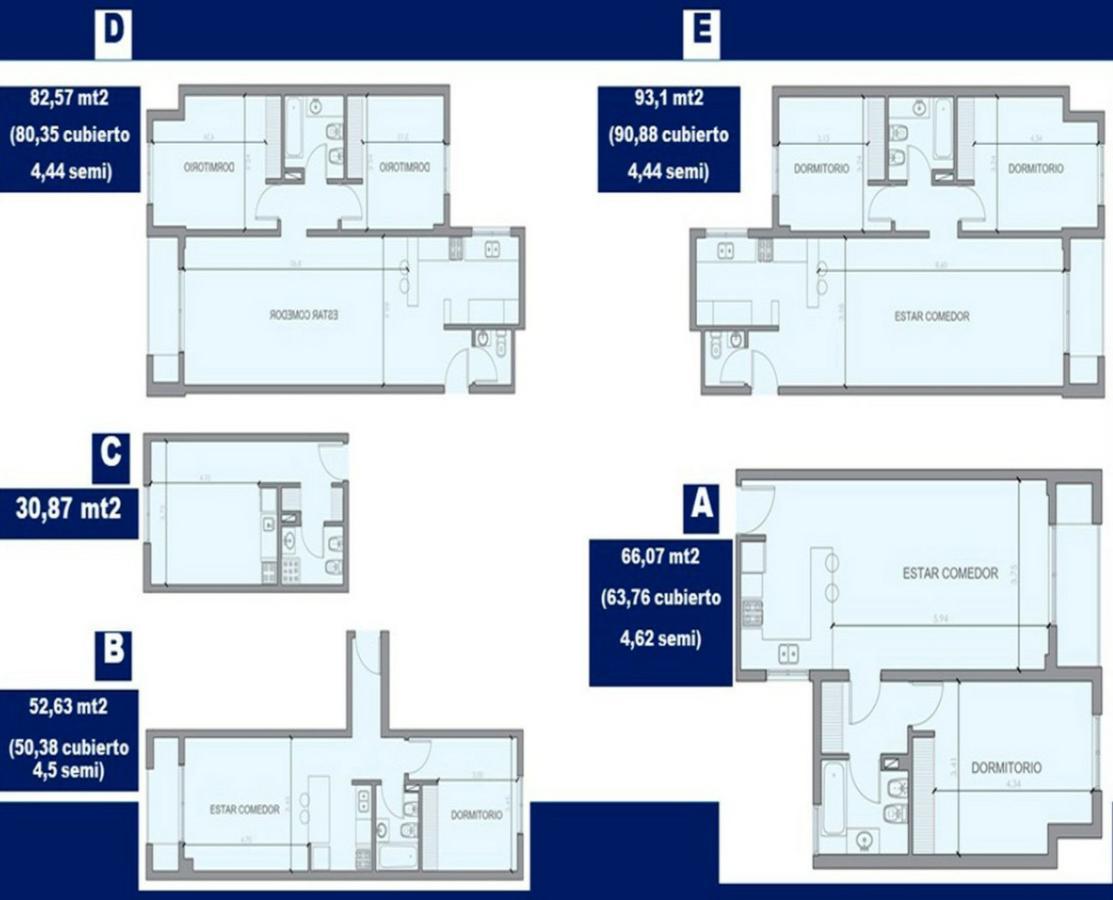 Foto Departamento en Venta en  Área Centro Oeste,  Capital  Las Heras 366- 1 dorm con parrilla