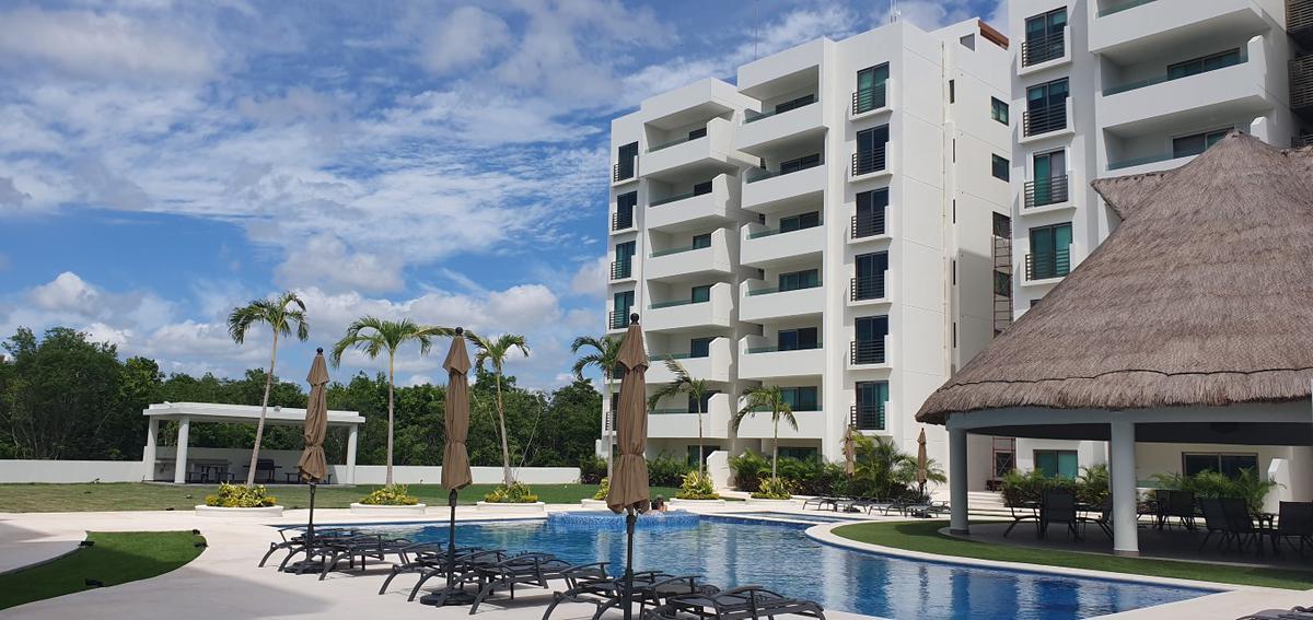 Foto Departamento en Venta en  Aqua,  Cancún   Residencial Aqua, CASCADES, Precioso Penthouse en Venta con Roof Garden para estrenar de 3 recámaras. Supermanzana 330, Cancún, Quintana Roo
