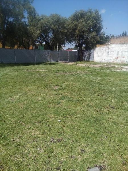Foto Terreno en Venta en  Metepec ,  Edo. de México  TERRENO EN VENTA , EN LA  COLONIA LÁZARO CÁRDENAS, METEPEC, ESTADO DE MÉX.