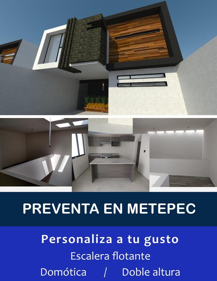 Foto Casa en condominio en Venta en  Metepec ,  Edo. de México  CASA EN PREVENTA EN LA COL. LÁZARO CÁRDENAS, METEPEC ESTADO DE MÉXICO