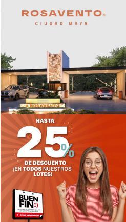 Foto Terreno en Venta en  Progreso ,  Yucatán  Terrenos residenciales en venta, financiamiento propio hasta 15 años.