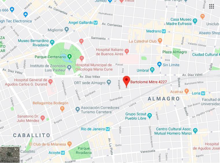 Foto Terreno en Venta en  Almagro ,  Capital Federal  Bartolomé Mitre al 4200