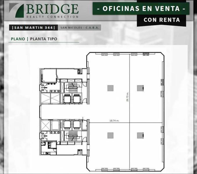 Foto Oficina en Venta en  Centro (Capital Federal) ,  Capital Federal  San Martin al 300