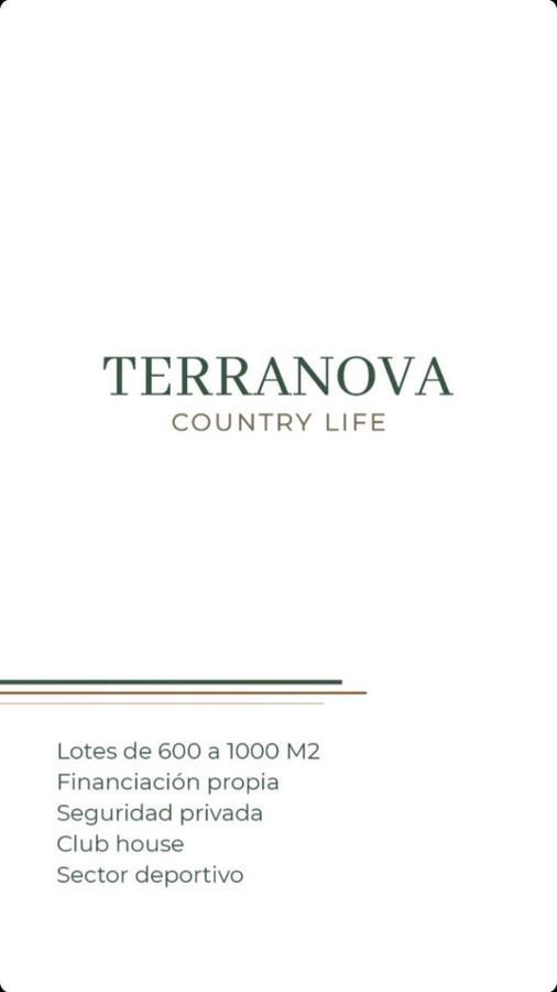Foto Terreno en Venta en  San Pablo,  San Miguel De Tucumán  Terrenos Country Terranova
