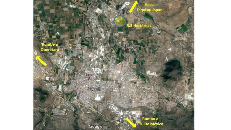 Foto Terreno en Venta en  Pueblo San Pedro Ahuacatlan,  San Juan del Río  TERRENO EN VENTA EN SAN JUAN DEL RIO QUERETARO