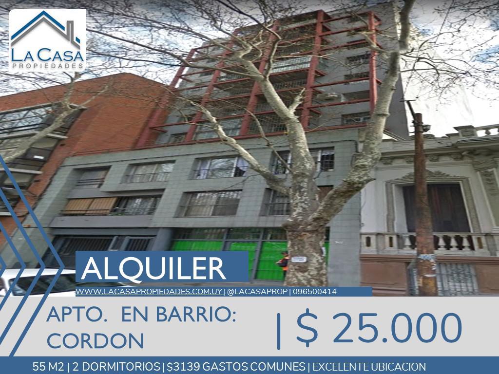 Foto Apartamento en Alquiler en  Cordón ,  Montevideo  Mercedes 1700