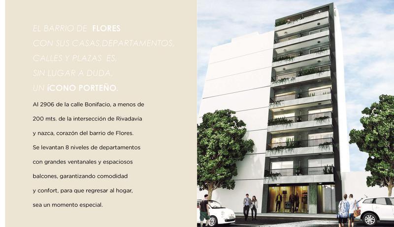 Foto Departamento en Venta en  Flores ,  Capital Federal  Bonifacio 2906 3 B