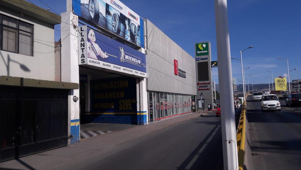 Foto Local en Renta | Venta en  Los Reyes,  San Luis Potosí  LOCAL EN VENTA Y RENTA SOBRE AVENIDA MUÑOZ, SAN LUIS POTOSI
