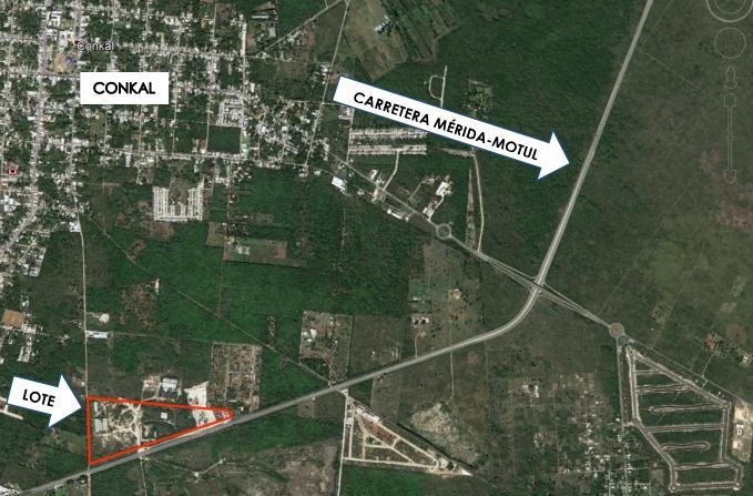 Foto Terreno en Venta en  Conkal ,  Yucatán  Terreno en venta en Conkal Tablaje 8961