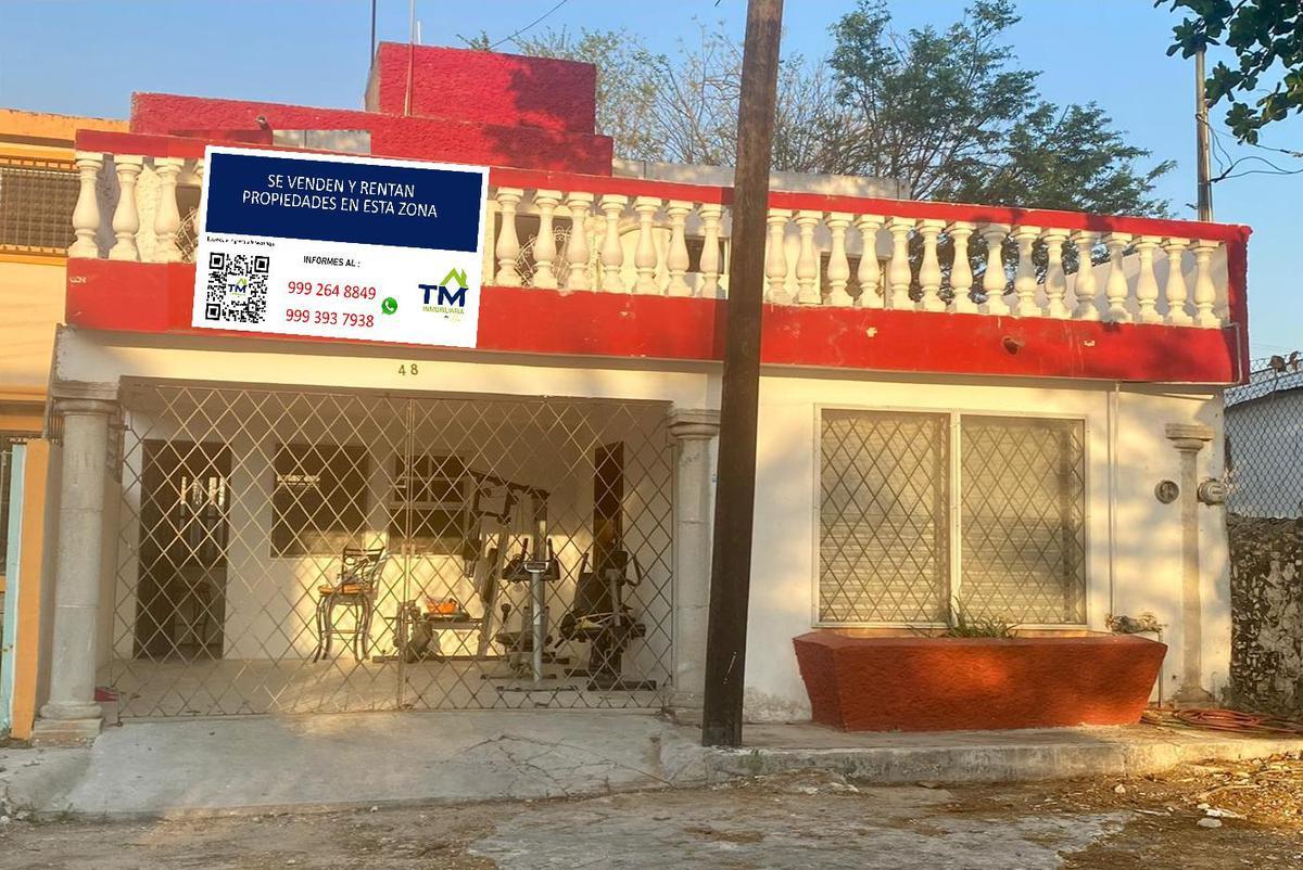 Foto Casa en Venta en  Chuburna de Hidalgo,  Mérida  CASA COLONIAL EN CHUBURNA