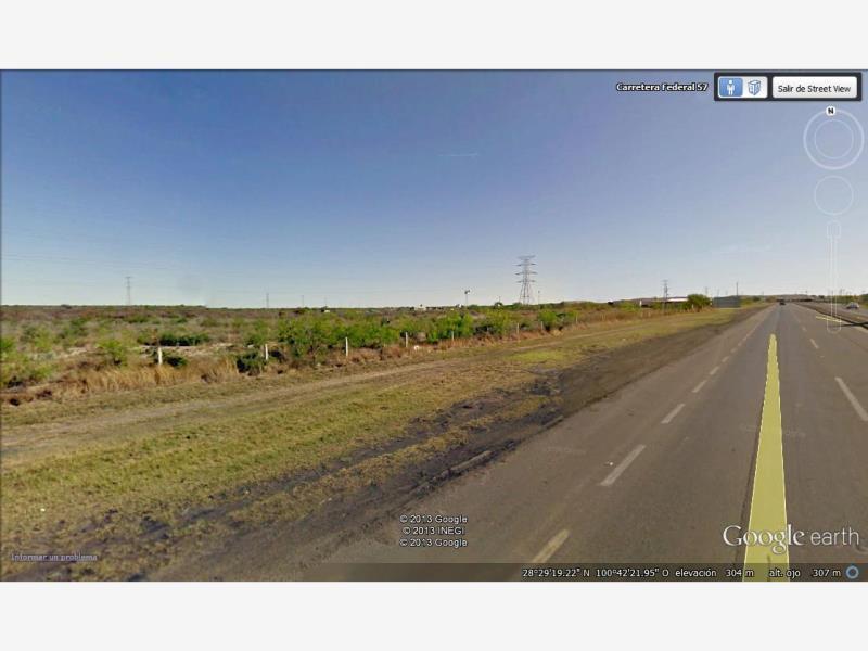 Foto Terreno en Venta en  Piedras Negras ,  Coahuila  CARRETERA 57 #KM 19