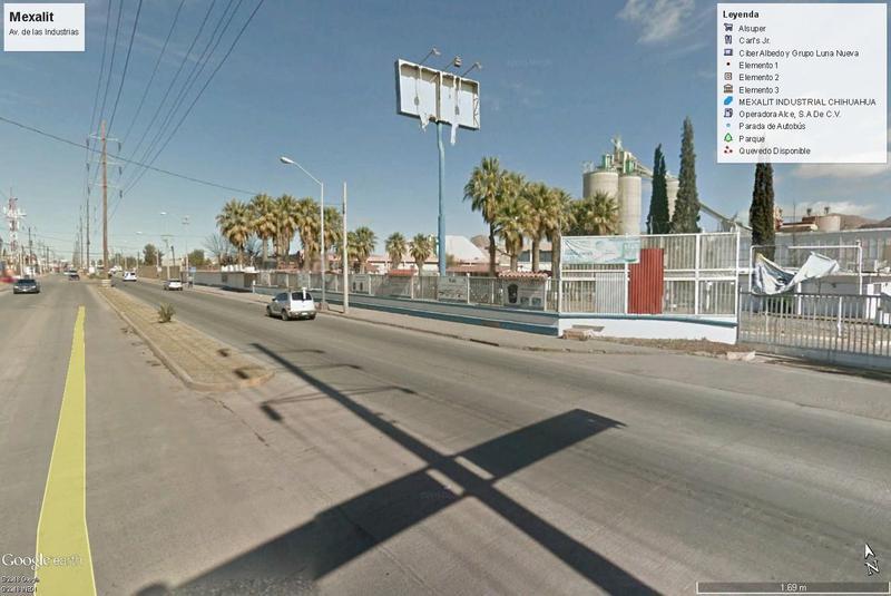 Foto Terreno en Venta en  Parque industrial Nombre de Dios,  Chihuahua  Lote Industrial