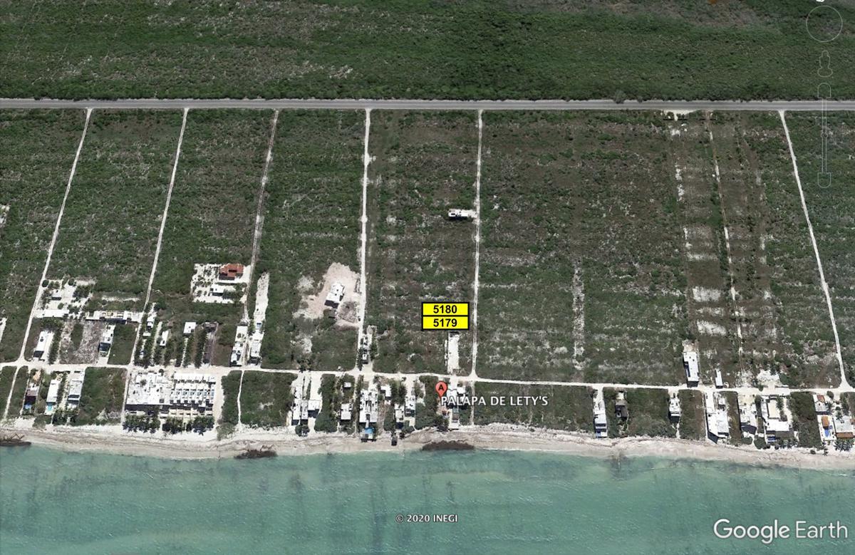 Foto Terreno en Venta en  Telchac Puerto ,  Yucatán  Dos terrenos en venta en playa San Benito Yucatan, se venden juntos.