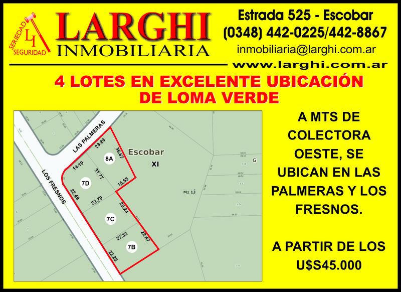 Foto Terreno en Venta en  Loma Verde,  Escobar  Los Aromos y Las Palmeras