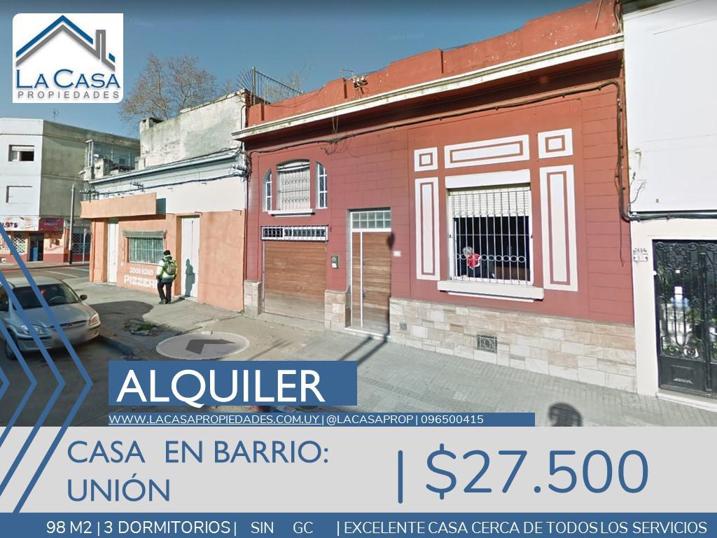 Foto Casa en Alquiler en  Unión ,  Montevideo  Joanicó al 3600