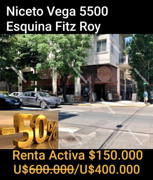 Foto Local en Venta en  Palermo Viejo,  Palermo  NICETO VEGA  al 5500 ESQUINA FITZ ROY