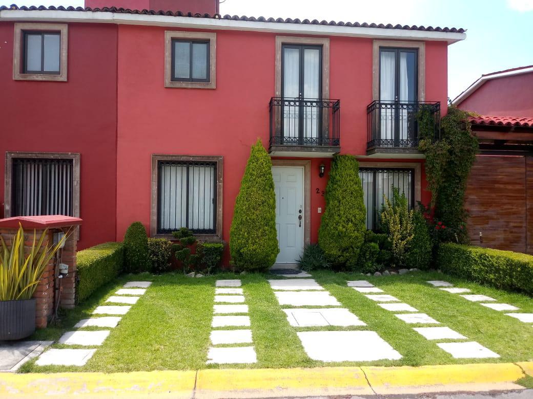 Foto Casa en condominio en Renta en  Toluca ,  Edo. de México  Casa en RENTA Valle de la Hacienda, Toluca, Estado de México