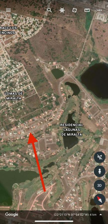 Foto Terreno en Venta en  Fraccionamiento Lagunas de Miralta,  Altamira  Lagunas de Miralta