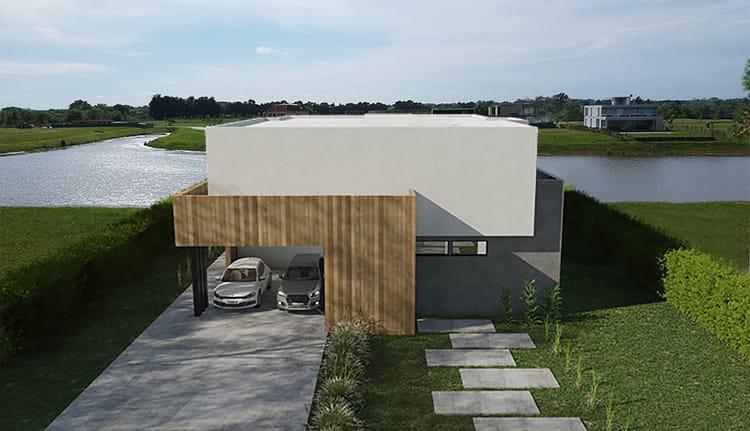 Foto Casa en Venta en  Pilara,  Countries/B.Cerrado (Pilar)  Pilara- Excelente casa a estrenar sobre laguna. La calesa