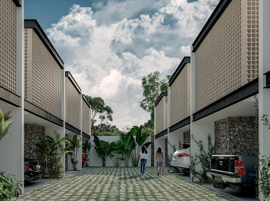 Foto Casa en Venta en  Pueblo Temozon Norte,  Mérida  CONJUNTO RESIDENCIAL DE TOWNHOUSES EN TEMOZON NORTE -LOS BALCHÉS
