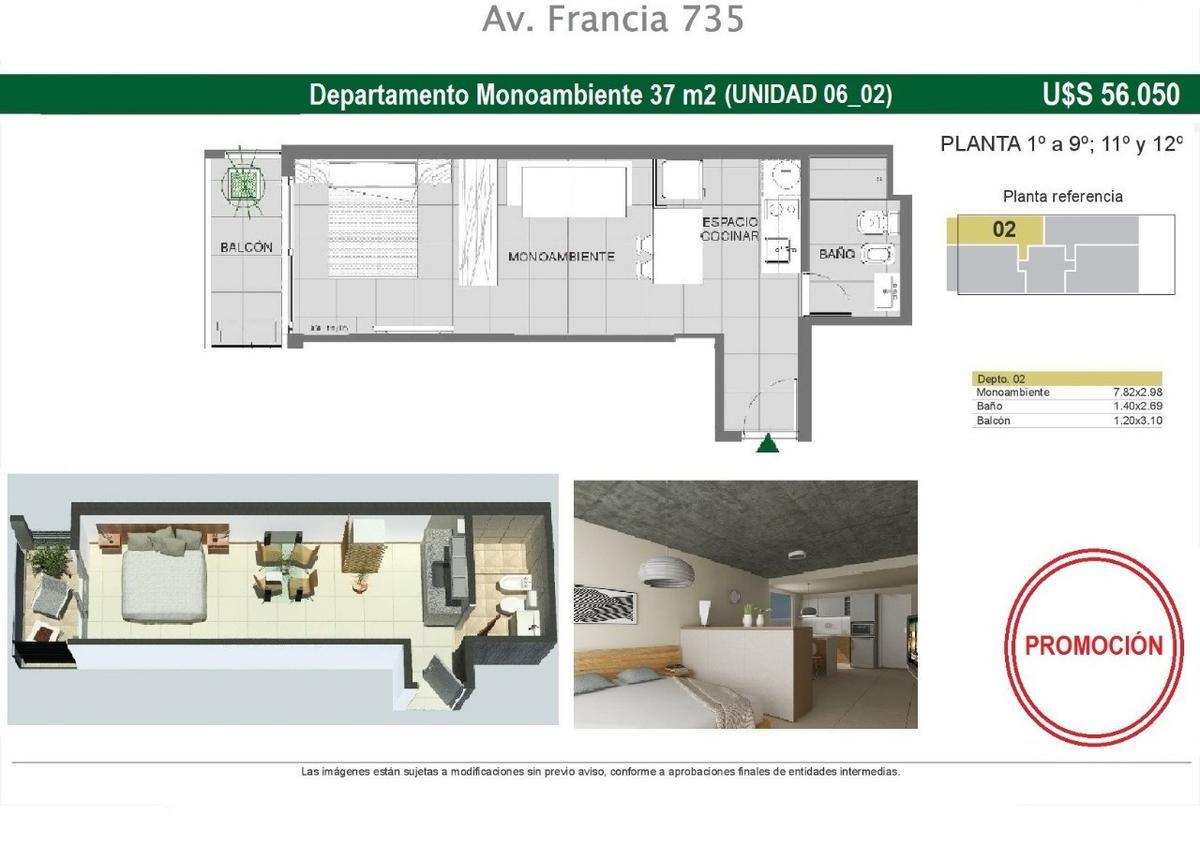 Foto Departamento en Venta en  Echesortu,  Rosario  Av. Francia 700