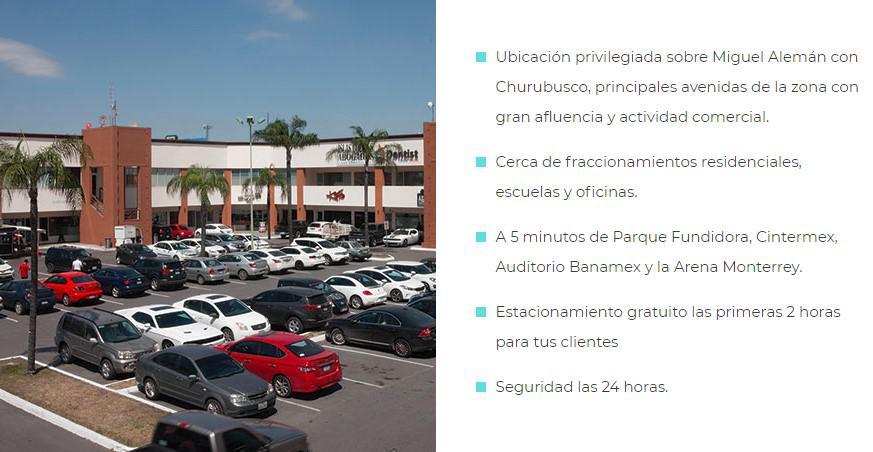 Foto Local en Renta en  Parque Industrial Regiomontano,  Monterrey  Plaza Lindavista