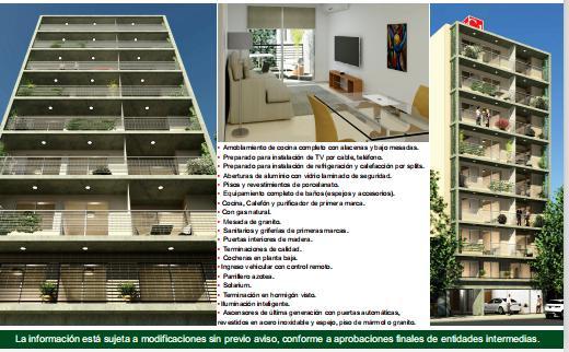 Foto Departamento en Venta en  Martin,  Rosario  MONTEVIDEO 324- 2 DORM. 66 M2. ENTREGA YA.