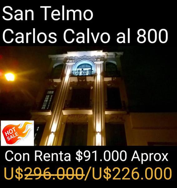 Foto Departamento en Venta en  San Telmo ,  Capital Federal  Carlos Calvo  al 800