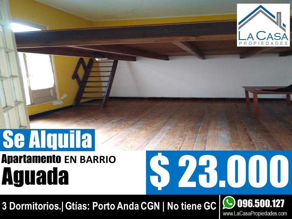 Foto Casa en Alquiler en  Aguada ,  Montevideo  millan al 2300