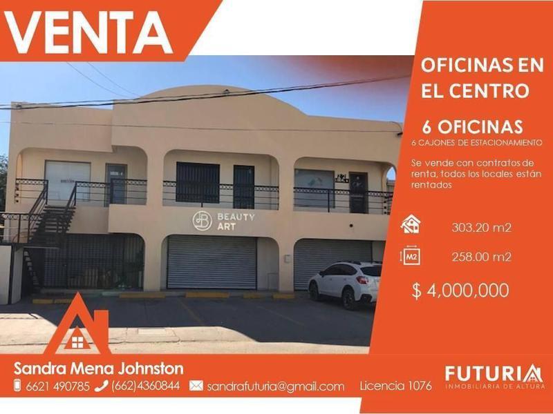 Foto Edificio Comercial en Venta en  Hermosillo Centro,  Hermosillo  EDIFICIO VENTA CENTRO