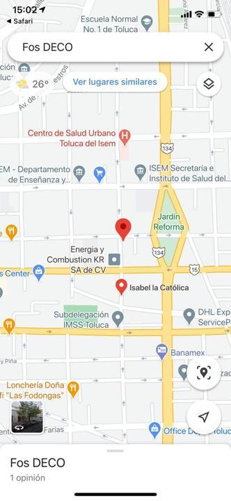 Foto Local en Renta en  Reforma,  Toluca  LOCAL EN RENTA EN CALLE 1 DE MAYO E ISABEL LA CATÓLICA TOLUCA