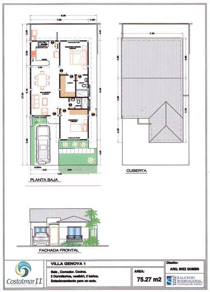 Foto Casa en Venta en  Vía a la Costa,  Guayaquil  Costalmar 2 - Genova