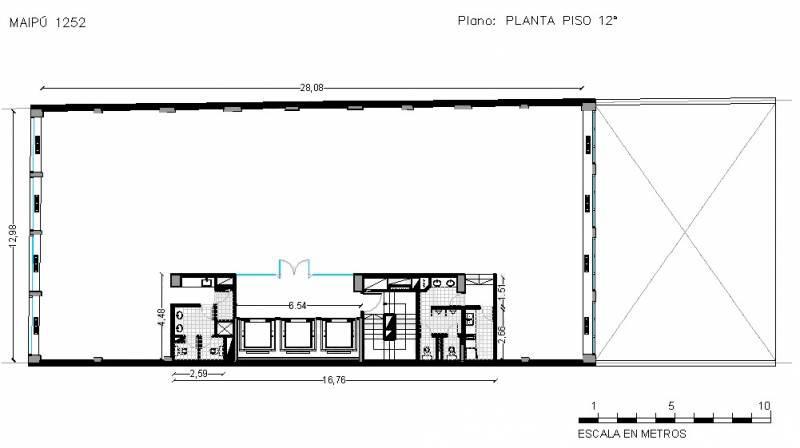 Foto Oficina en Alquiler en  Retiro,  Centro (Capital Federal)  MAIPU 1252 5