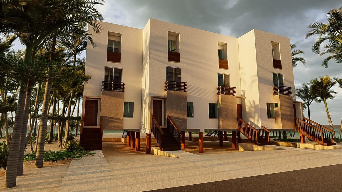 Foto Villa en Venta en  Pueblo Chicxulub Puerto,  Progreso  Villas en venta en las playas yucatecas- frente al mar