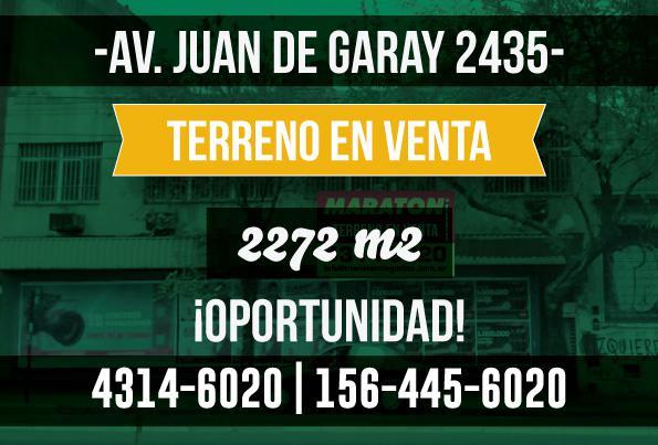 Foto Terreno en Venta en  Parque Patricios ,  Capital Federal  Av. Juan de Garay al 2400