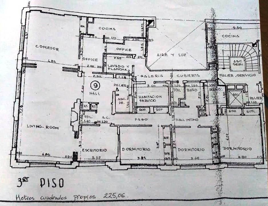 Foto Departamento en Venta en  Recoleta ,  Capital Federal  Av. Alvear esquina Av. Callao. Todo externo,  225 m2!